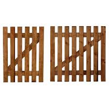 wood picket fence gate. Wooden Picket Fence Gate Including Latch \u0026 Hinge Wood