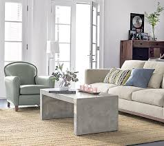 view in gallery concrete coffee table