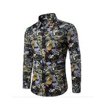 Get the <b>Men's Floral Long</b> Sleeve Casual Printed Shirt Button Down ...