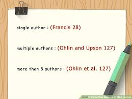 citations in mla format how to cite sources in mla format with pictures wikihow