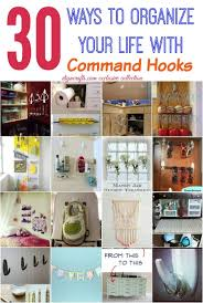 Command Strip Coat Rack Enchanting 32 Wonderful Ways To Organize Your Life With Command Hooks DIY