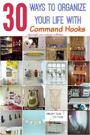 Command Strip Coat Rack Enchanting 32 Wonderful Ways To Organize Your Life With Command Hooks DIY