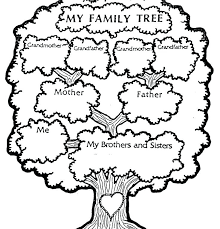 how to draw family tree family tree line drawing at getdrawings com free for personal use