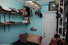 Chef Lives In New Yorku0027s Smallest Apt  Business InsiderSmallest New York Apartments