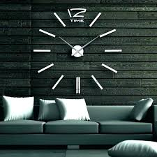 large wall clocks for large contemporary wall clocks interior extra large black roman numerals large wall clocks