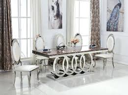 round marble top dining table set singapore