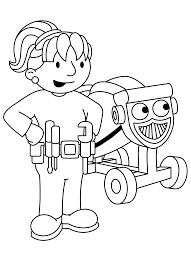 Small Picture Bob The Builder Coloring Pages Coloring Coloring Pages
