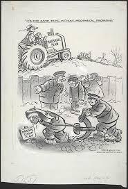 cartoon by herb lock for the washington post after the ussr  1949 cartoon by herb lock for the washington post after the ussr created the council for