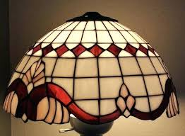 vintage stained glass floor lamp vintage glass lamp shades for elegant home interior lighting ideas