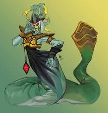 medusa fan art the only real beauty is power dota 2