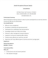 Writing An Awesome Cover Letter Medical Receptionist Resume Template