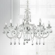 classic italian clear crystal chandelier