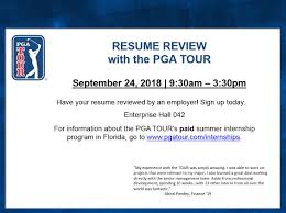 Resume Review Pgatour Marvelous Templates Usc Online Specialist