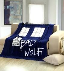 doctor who bedding home textile children quilt anime blanket sofa flannel fleece fabric plaid throw