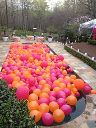 office birthday decoration. Briliant Decoration Celebrity Birthday Outdoor Balloon Pool Office E