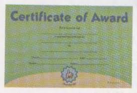 Awana Certificate Of Award Awana Certificate Of Award Pkg Of 10 Awana Australia