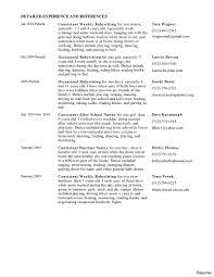 Sample Resume For Babysitter Resume Early Childhood Resume 20
