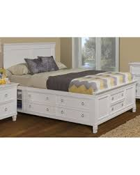 white king storage bed. Brilliant Bed Tamarack White Queen Platform Storage Bed By New Classic In King R