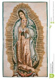 Virgen De Guadalupe Embroidery Design Virgin Of Guadalupe Stock Image Image Of Virgin Mary