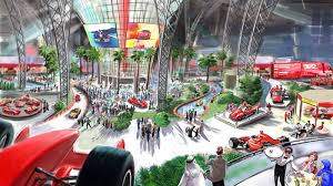 Ferrari world is an excellent illustration of this. Ferrari World Abu Dhabi Renders Its Attractions Autoblog