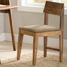 Sheesham Wood Cushioned Dining Chair