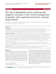 The Role Of Dobutamine Stress Cardiovascular Magnetic