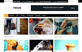 News Template Free Ii Magazine Portal Download Site Global