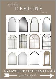 Small Picture The 25 best Arch mirror ideas on Pinterest Foyer table decor