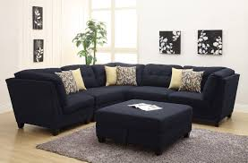 Wonderful Most Comfortable Sectional Sofa In Black With Decorative Cushions Inside Impressive Ideas