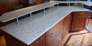 image of stylish recycled countertops