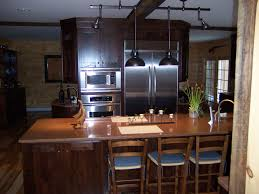 Oak Cabinets Living Room Kitchen Colors With Oak Cabinets And Black Countertops Deck