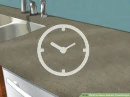 can you use clorox wipes on granite image titled clean granite step