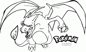 Small Picture Charizard Coloring Pages Pokemon Coloring Page Charizard Coloring