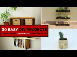 30 easy diy projects for beginners that
