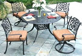 useful cast aluminum patio furniture touch up painting fair realistic