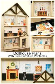 Printable Dollhouse Furniture Patterns Caring Corners Dollhouse Furniture Home Decor Large Size Befallo
