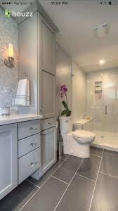 Dark Or Light Bathroom Unique Bathroom Dark Grey Tile Flooring Light Grey Magnetic