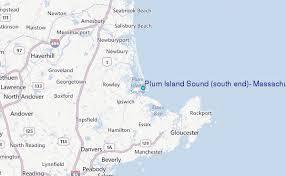 Tide Chart Danvers Ma Plum Island Sound South End Massachusetts Tide Station