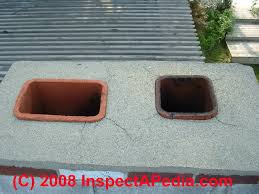 other chimney top repairs for damaged flue liners or surrounding masonry