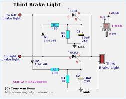 third brake light wiring diagram wagnerdesign of third brake light 1N4148 Circuit at 1n4148 Wiring Diagram