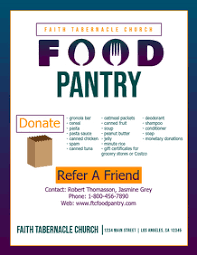 Food Drive Flyers Templates 780 Food Pantry Customizable Design Templates Postermywall