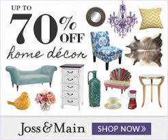 Joss and Main Coupon Code Up to 70% f on High Quality
