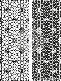 Arabic Pattern Vector Symmetrical Arabic Islamic Pattern Background In 2019
