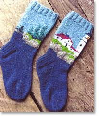 Sock Knitting Pattern Best Lighthouse Socks Knitting Pattern Halcyon Yarn