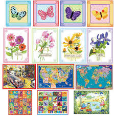 on childrens canvas wall art with eeboo canvas childrens classroom wall art
