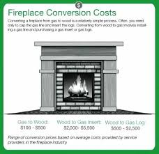 converting wood burning fireplace to gas fireplace conversion cost graphic convert wood burning cook stove to