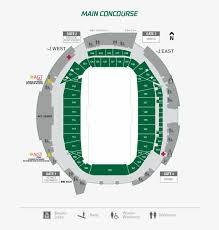 Stadium Concourse Map Mosaic Stadium Map Free