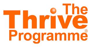 husqvarna logo orange. the thrive programme logo husqvarna orange