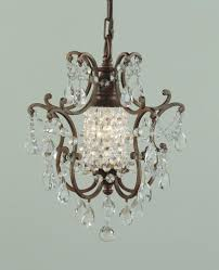 1 light mini duo chandelier