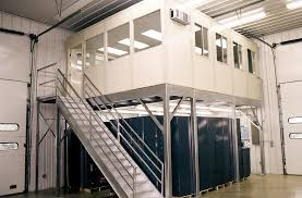 office racking system. Vision Tower Modular Inplant Offices: Office Racking System